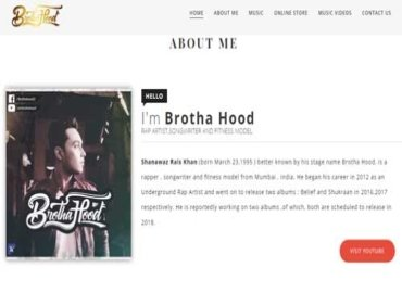Artist website design by me on blogger and i provide freelance wordpress development services