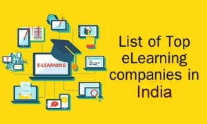 List of Top eLearning Content development companies in India