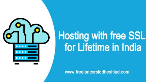 Hosting with free SSL for Lifetime in India