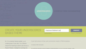 underscore-starter-theme-wordpress-for-custom-wordpress-theme-development
